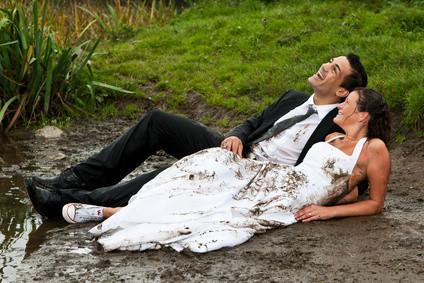 Brautkleid reinigen